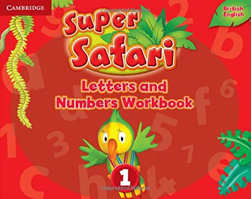 Super Safari Level 1 Letters and Numbers Workbook (Super Minds) - 9781316628164