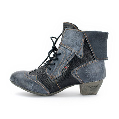 ATM TMA Bottes et bottines cowboy femme Noir bleu