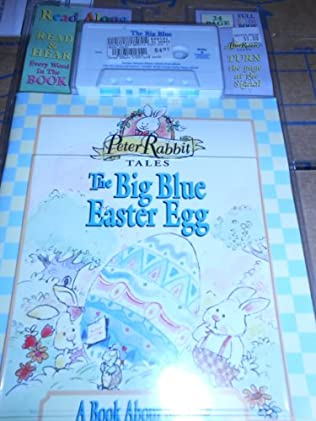 book cover of The Big Blue Easter Egg