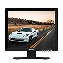 JaiHo 15-Zoll-LCD-Monitor HDMI-VGA-Monitor, 1024x768 Auflösung