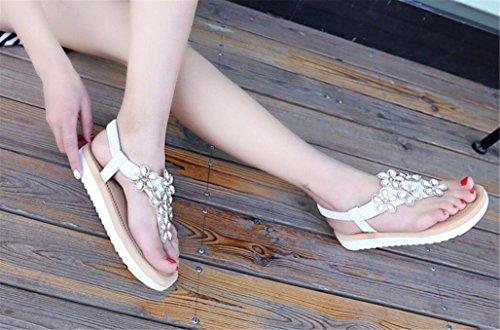 shunliu 2017 damen sandalen flache schuhe sandalen. Black Bedroom Furniture Sets. Home Design Ideas