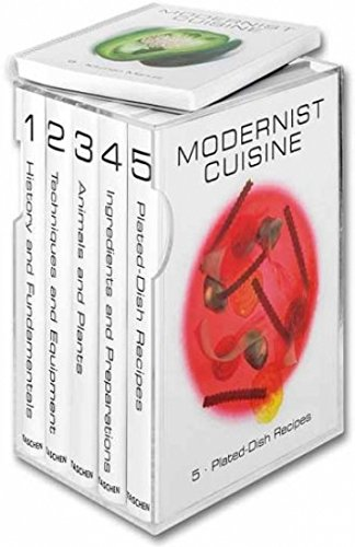 Modernist Cuisine: The Art and Science of Cooking, 6 Volumes par Nathan Myhrvold