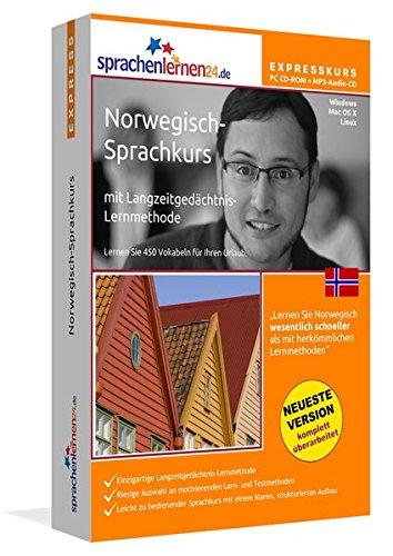 Sprachenlernen24.de Norwegisch-Express-Sprachkurs PC CD-ROM für Windows/Linux/Mac OS X + MP3-Audio-CD: Werden Sie in wenigen Tagen fit für Ihre Reise nach Norwegen