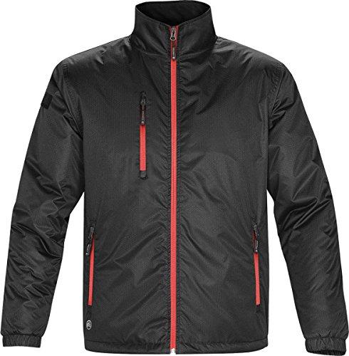 Stormtech Veste pour homme chaud Axis Manteau d'hiver pour femme avec isolation fibreloft Multicolore - Black/ Red