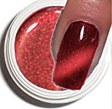 CAT-EYE UV-Gel 5ml ~~CRANBERRY-RED~~ Hochdeckend. Der aktuelle Trend in der Nagelmodellage!