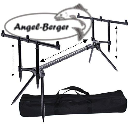 Angel Berger Session Rod Pod con funda