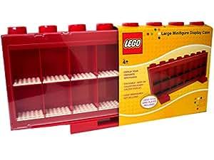 Lego - 106 - Ameublement et Décoration - Vitrine Figurines 16 Cases - Rouge
