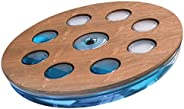 NOHRD Unisex Adult Eau Me Water Balance Board Cherry - Brown, One Size