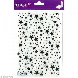 Toga DCE018 Cut-It-All Classeur d'embossage Plastique Transparent 14 x 20 x 0.5 cm