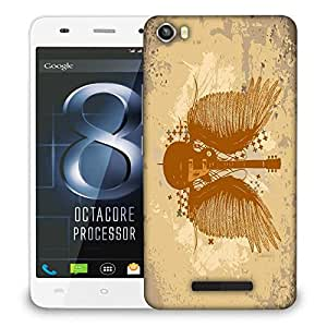 Snoogg Mechanism Designer Protective Phone Back Case Cover For Lava Iris X8