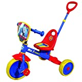 Thomas Tricycle with Push Bar, Multi Color