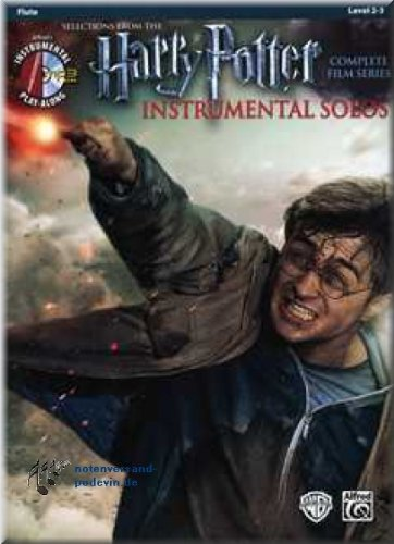 Produktbild Harry Potter Instrumental Solos Flute - Selections from the Complete Film Series - Flöte Noten [Musiknoten]