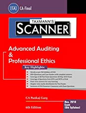 Scanner-Advanced Auditing & Professional Ethics (CA-Final)(November 2018 Exam-Old Syllabus)
