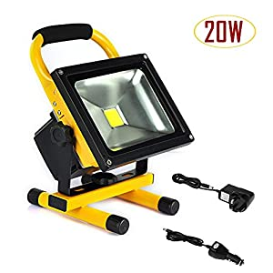 BEEWAY® Rechargeable Portable LED Work Emergency Lamp Flood Light by BEEWAY