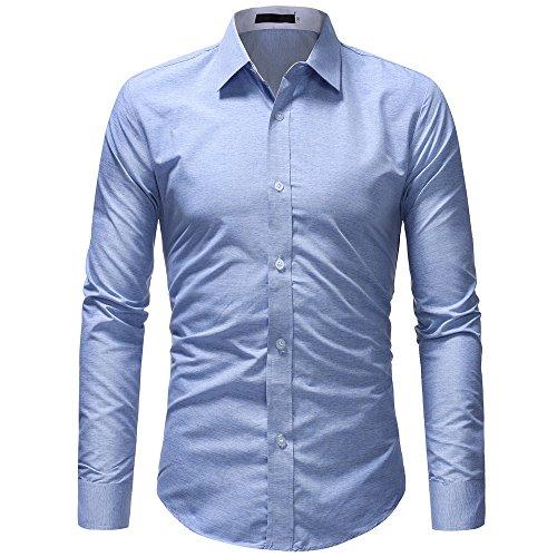 Sconto!,promozione uomo funky stampato biancheria camicia manica lunga fantasia floreale casuale shirt modello unico