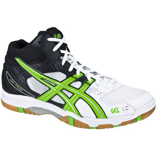 Asics Gel-Task Mt, Chaussures de volleyball homme green/white