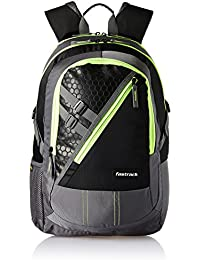 1fa488e8a523 Fastrack 31.76 Ltrs Grey Casual Backpack (A0664NGY01)