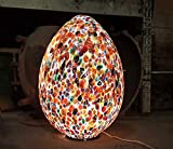 Tischlampe Murano Zefiro–Muranoglas Multicolor–29x 41x 29cm | Table Lamp Murano Zefiro–Muranoglas Multicolor–29x 41x 29cm