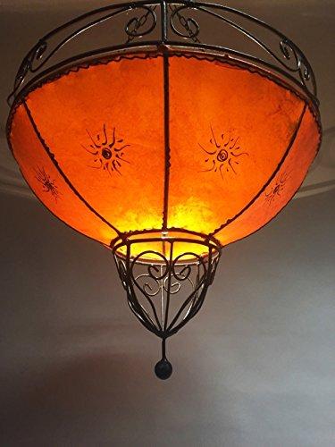 Marokkanische Hennalampe Demren Orange