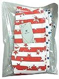 Bienzoe Mädchen Strick Baumwolle Stretch Schuluniform Spitze Antistatische Legging 3 Packung Drucken Größe 8 - 2