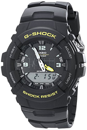 Casio G-100-9CMCR G Shock Analog-digital Watch For Unisex