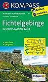 Fichtelgebirge - Bayreuth - Marktredwitz: Wanderkarte mit Aktiv Guide und Radrouten - GPS-genau - 1:50000 (KOMPASS-Wanderkarten, Band 191) -