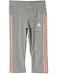 Adidas YG 3S 3/4TGT Collant 3/4, filles