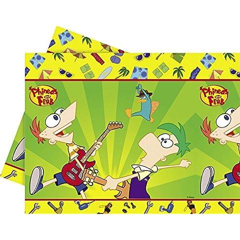 Phineas e Ferb copertura tabella del
