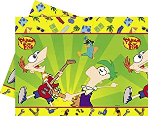 Amscan Tablecover Phineas and ferb