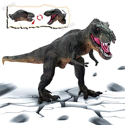nosaurier-Tyrannosaurus Rex, beweglicher Mund-Dinosaurier-Spielzeug-Modell zum Erwachsenen Kindersammler zum Geschenk schmücken für Partei und Geburtstag ()