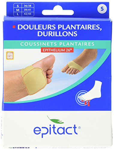 EPITACT EPITHELIUM 26 Coussinets Plantaires Taille 36/38 (Pack de 2)