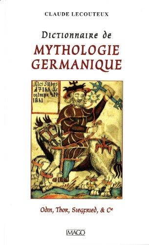 Dictionnaire de mythologie germanique par Claude Lecouteux
