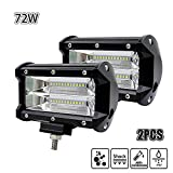 Echoming LED Arbeitsscheinwerfer 5 Inch 72W Cree LED...