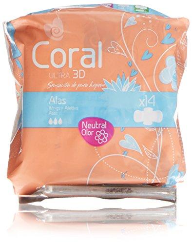 Coral Compresa Femenina Ultra Alas