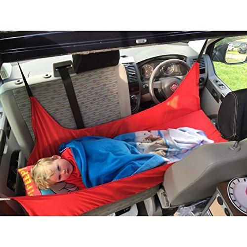 Preisvergleich Produktbild Kiravans Kinderbett kompatibel mit VWT5 / VWT6 Wohnmobil,  ideales rotes Bett für Kinder zum Schlafen im Wohnmobil