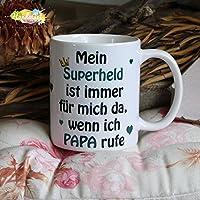 Kaffeebecher ~ Tasse - Mein Superheld - Papa ~ Vater ~ Weihnachten Geschenk
