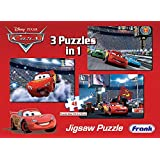 Frank Disney Pixar Cars 3 Puzzles in 1 - A Set of 3 48 Pc Jigsaw Puzzles for 5 Year Old Kids and Above