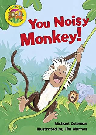 book cover of You Noisy Monkey!