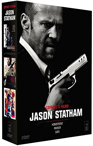 Coffret 3 films Jason Statham : Homefront + Parker + Safe