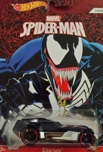 2014 Hot Wheels Marvel Spiderman Ettorium 03/08