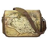"Gaya The Elder Scrolls V: Skyrim Messenger Bag ""Map"" - Not Machine Specific"