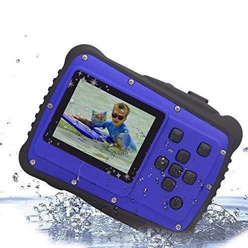 Vmotal GDC5262 Fotocamera digitale impermeabile con zoom digitale 4x / 8MP / 2' Schermo LCD TFT/Camera impermeabile per bambini Regalo di Natale (Blu)