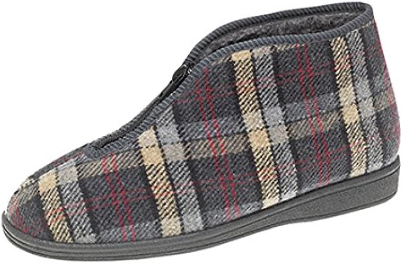 Sleepers - Zapatillas de Estar por casa para Hombre, Color Gris, Talla 40 -