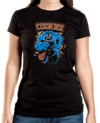 Certified Freak Cookies T-Shirt Girls Black XXL