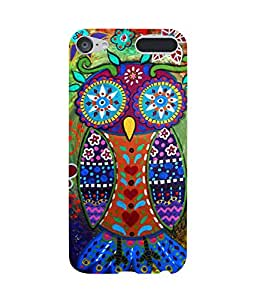 Owl Ethnic Apple iPod Touch (6th Generation) Case
