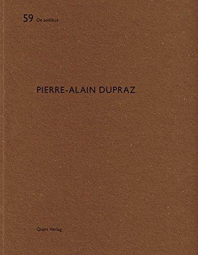 Pierre-alain Dupraz: De Aedibus