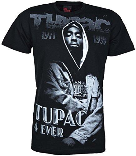 TIME IS MONEY Herren T-Shirt Schwarz schwarz Large Schwarz