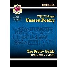 New Grade 9-1 GCSE English Literature WJEC Eduqas Unseen Poetry Guide (CGP GCSE English 9-1 Revision)