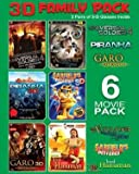 3D Family Pack 6 Movie Pack - Best Reviews Guide