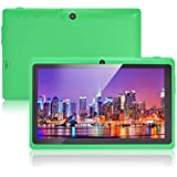 JINYJIA E-SHOP 7 Inch Android Google Tablet PC 4.2.2 8GB 512MB DDR3 A23 Dual Core Camera Capacitive Screen 1.5GHz WIFI Green